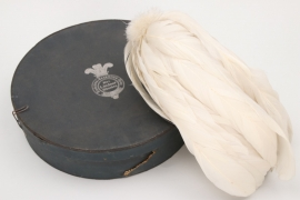 Imperial Germany - unknown helmet/hat feathers in box