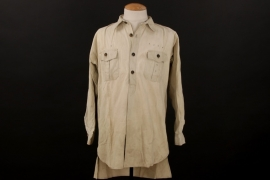 Luftwaffe tropical service shirt - sun bleached