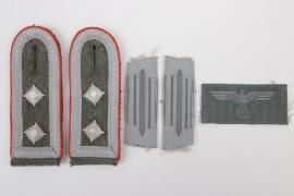 Heer Artillerie NCO insignia set - Oberfeldwebel