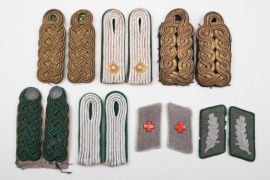 Imperial Germany/Third Reich - shoulder boards & collar tabs