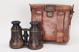 WWI binoculars in case - GOERZ