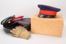 Baden - EM visor cap, student's caps & gloves