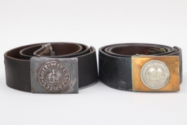 Saxony & Prussia - EM/NCO belt and buckle