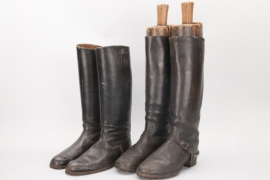 Wehrmacht EM/NCO cavalry boots & officer's boots