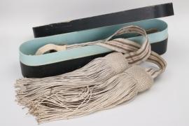 Baden & Oldenburg - officer's parade sash in case