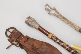 3 x Imperial Germany - reservists sticks & belt