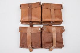 2x Wehrmacht G43 ammunition pouches - 1944