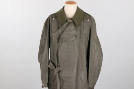 Wehrmacht motorcyclist's coat - Klepper & Stich