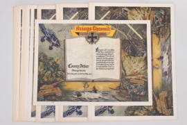 "32 x ""Kriegs-Chronik 1939-1945"" WWII chronicles"