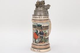 Imperial Germany - Eisenbahn-Regiment 11 reservist's mug