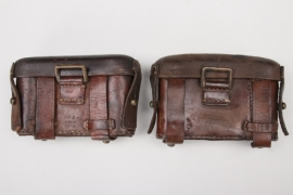 Imperial Germany - WWI ammunition pouch M 1887 set