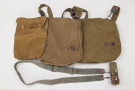 Wehrmacht lot of bread bags & shoulder straps