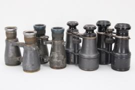 4x WWI binoculars