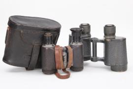 2x WWI binoculars