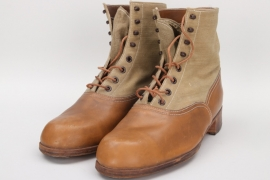 Replica (!) Wehrmacht tropical low ankle boots