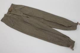 Heer Sturmgeschütz trousers - E44 (unissued)