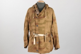 Wehrmacht tan & water camo winter parka