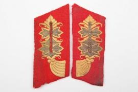 Heer General's collar tabs