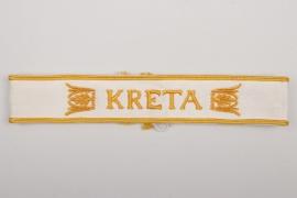 Wehrmacht KRETA cuff title