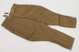 Heer tropical breeches (unissued)  - H42