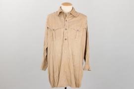 Waffen-SS tropical Sahariani shirt
