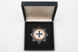 1957 German Cross in gold with case - S&L