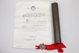 Portugal - certificate to Maria da Conceicao Azevedo da Luz