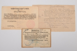 Soviet Union - Special identification documents