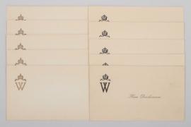 Kaiser Wilhelm - 10place cards