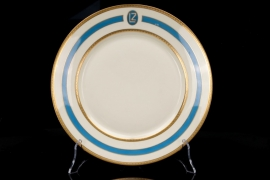 "Airship ""Graf Zeppelin"" dinner plate"