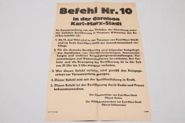 "East German uprising - ""Ausnahmezustand"" poster"