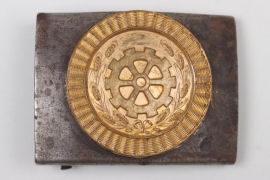 Third Reich buckle - used after 1945