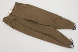 Heer Gebirgsjäger mountain trousers - 1940