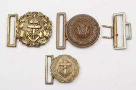 Imperial Germany - lot of belt buckles