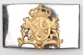 Bavaria - reign King JosephMaximilian I belt buckle