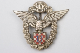 Croatia - WWII Pilot's Badge - Braća Knaus
