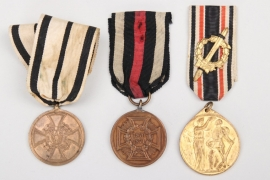 3 x Imperial Germany - medals