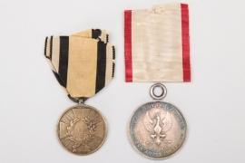 Prussia & Frankfurt War Commemorative Medals