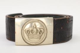 Bavaria - Gendarmerie EM/NCO dress buckle + belt