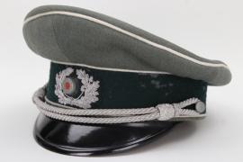 Heer Infanterie officer's visor cap