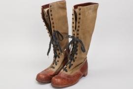 Replica (!) Heer high tropical boots - 1st pattern