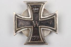 1914 Iron Cross 1st Class on screw-back - Victoria