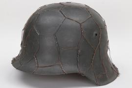 Heer M42 helmet with wire - hkp62