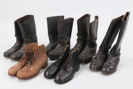 Third Reich/Germany - lot of boots & low ankle boots