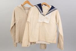 Kriegsmarine / Kaiserliche Marine uniform grouping
