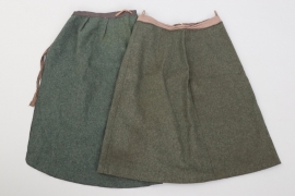 Heer skirt & apron of a Helferin