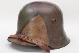 Imperial Germany - WWI M16 mimikry camo helmet