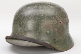 Heer M35 combat helmet - ET68