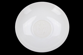 KPM - porcelain saucer with motif 'Arkadia' series