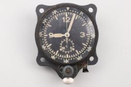 """Luftwaffe cockpit clock """"Borduhr"""" - Junghans"""